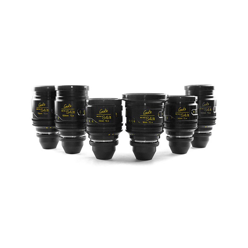 The Movie Lot Lens Set Cooke S4i T2.0