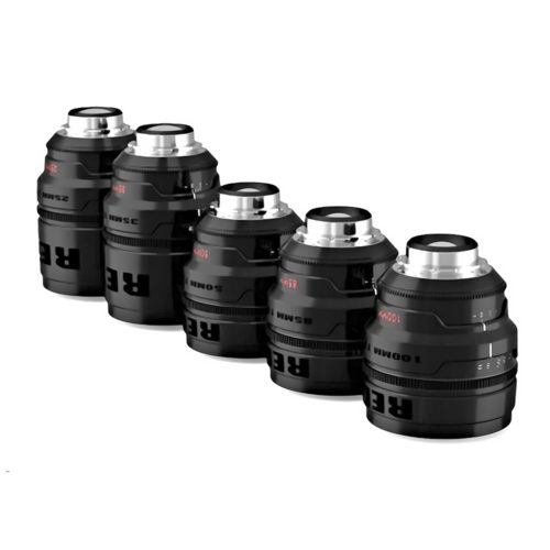 The Movie Lot Lens Set Red Pro Primes T1.8