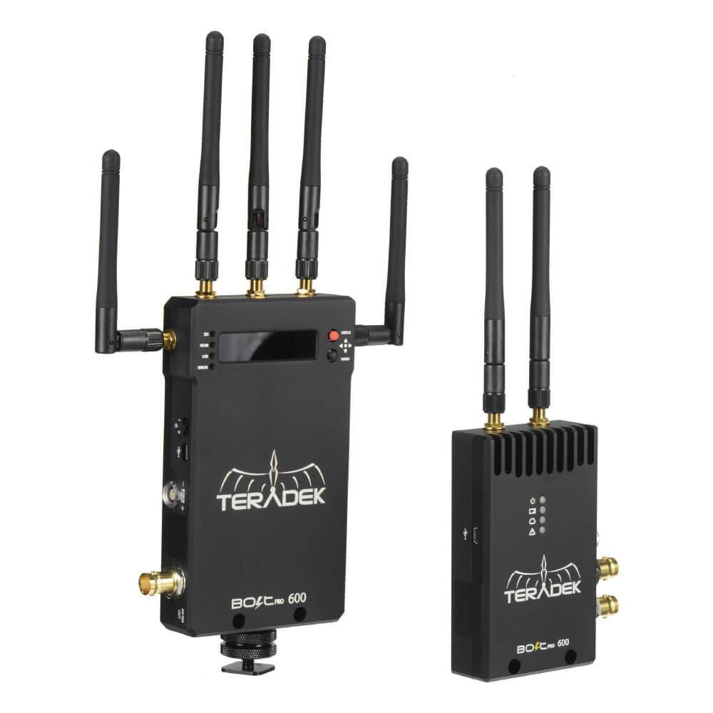 The Movie Lot Wireless HD video Teradek Bolt Pro 600 1Tx+2Rx